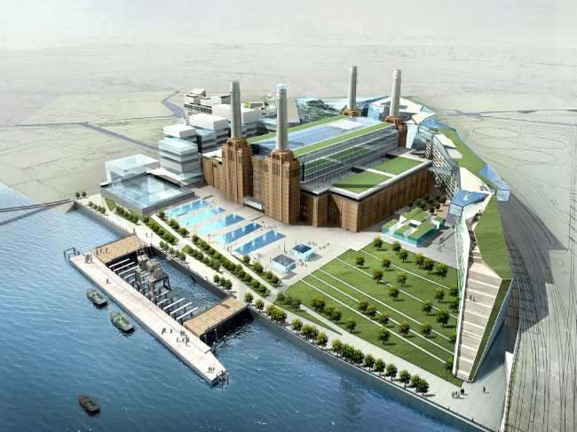 A Battersea Power Station plan