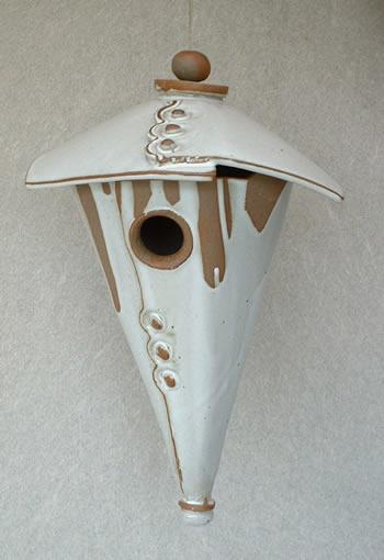 Ceramic Birdhouse Based On Unique Design Jane Street