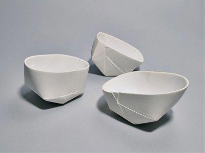 Folded Porcelain, by Karin Blech Nielsen