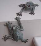 Pauline Doyle's frogs were a big hit!