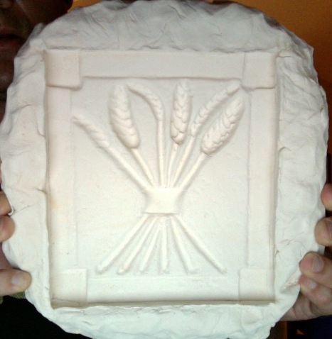 Mold for Sheaf of Wheat tile