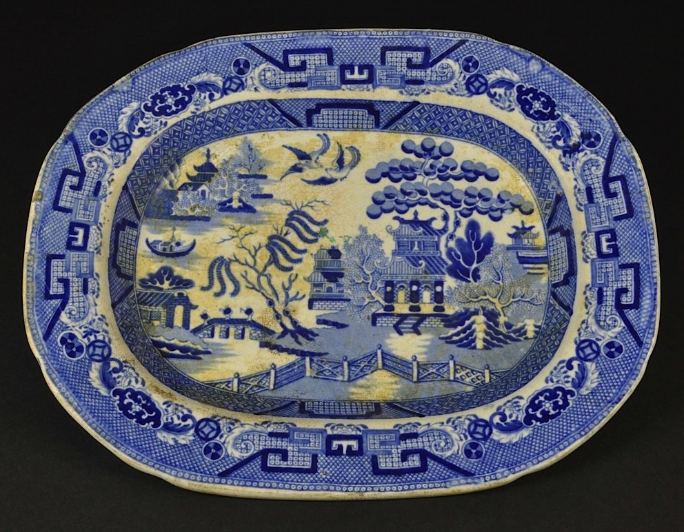 The Mystery Of Blue Willow Pattern China