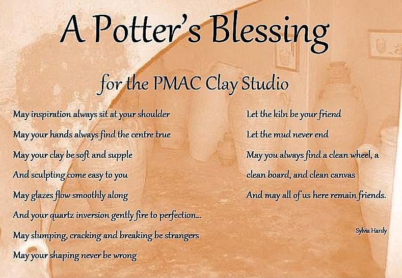 """A Potter\'s Blessing"""" for the New Year - JANE STREET CLAYWORKS"""