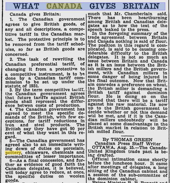 Monday, August 15, 1932 edition of Saskatchewan, Canada's, Saskatoon Star-Phoenix