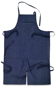 Mudslingers' aprons for potters and ceramists