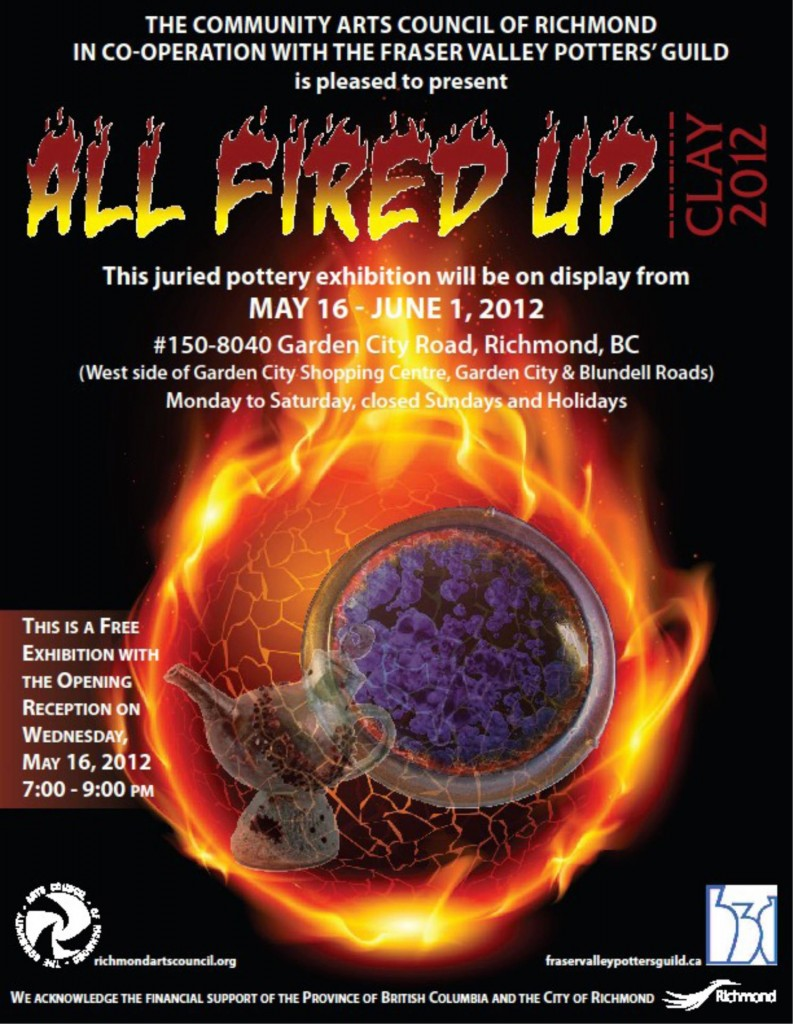 All Fired Up: a juried exhibition in Richmond, B.C.