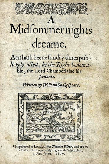 "Shakespeare's ""A Midsummer Night's Dream"" through art"