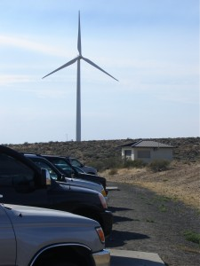 wind turbine, Vantage, Washington