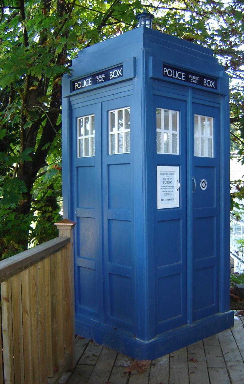 Daytime TARDIS