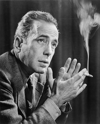Humphrey Bogart, by Karsh, National Archives of Canada, via Wikimedia Commons