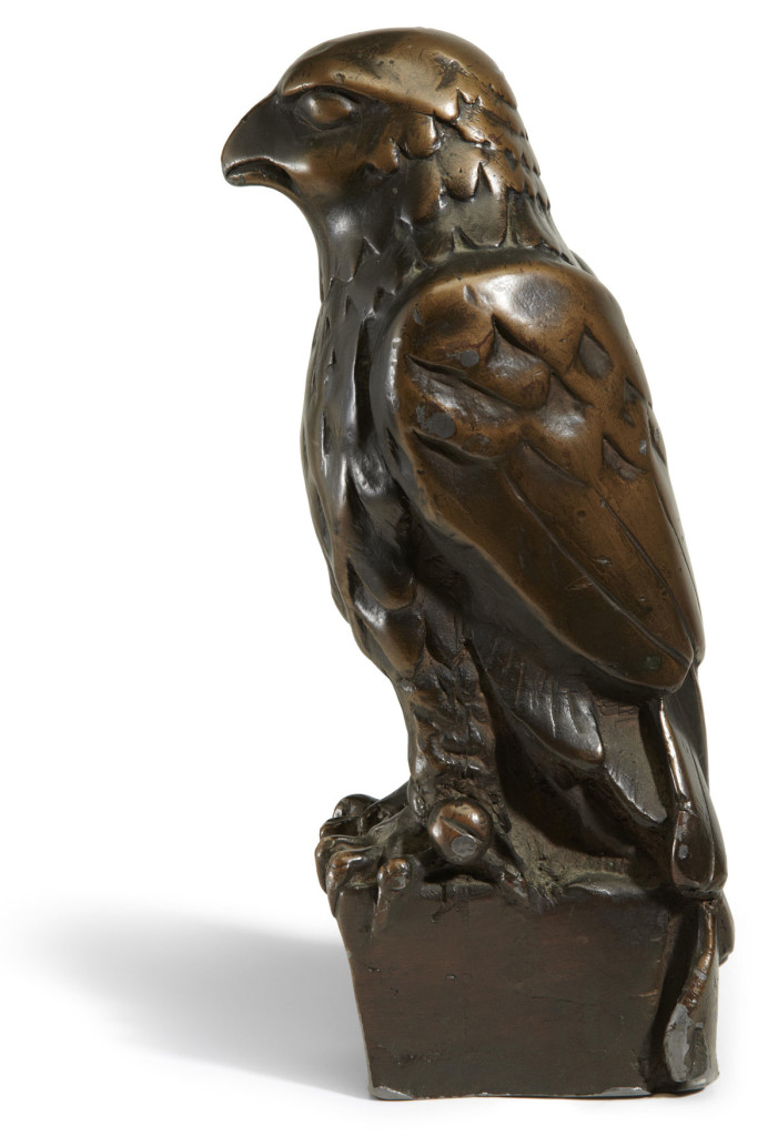 Maltese Falcon prop used in the movie, which recently sold for over $4 million.