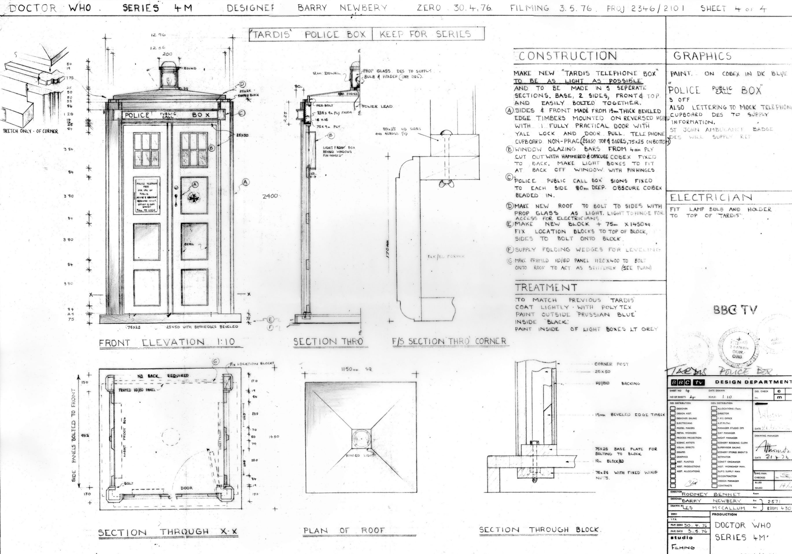 Tardis build further Falmouth Cutter 22 as well Espanola together with Architects For Society Designs Low Cost Hexagonal Shelters For Refugees as well Blueprints Cinderella Castle Magic Kingdom Park Walt Disney World. on small trailer plans blueprints